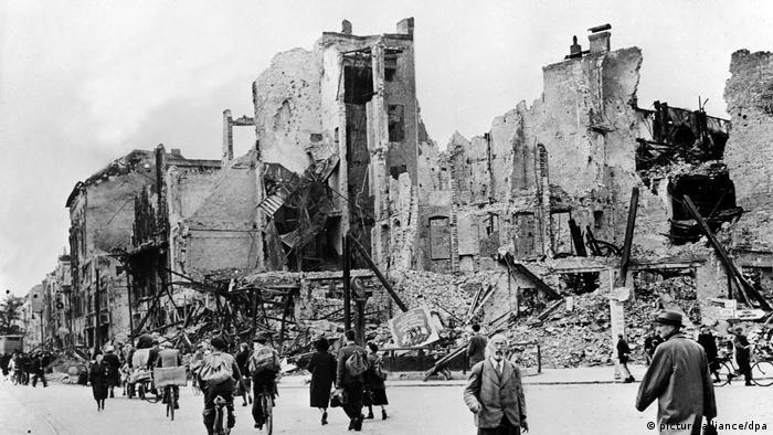 Zerstötres Berlin nach dem 2. Weltkrieg