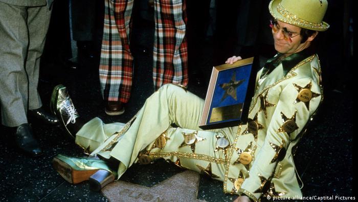Elton John Hollywood Walk Of Fame (picture-alliance/Captital Pictures)