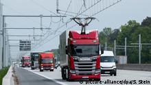 Deutschland E-Highway Hessen A5 Teststrecke