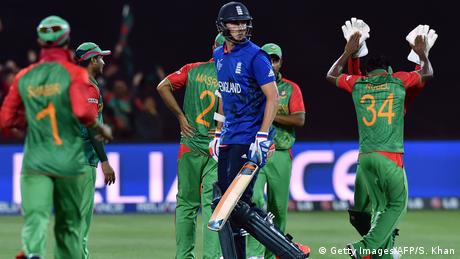 Cricket World Cup 2015 | Sieg Bangladesch vs. England (Getty Images/AFP/S. Khan)