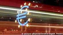 Europa Geld l EZB Europäische Zentralbank in Frankfurt