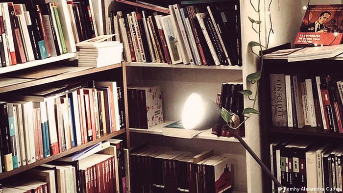 Buchhandlung Bartleby & Co. von innen (Romhy Alexandra Cubas)