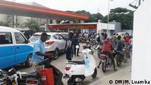 Diesel- und Benzinkrise in Angola