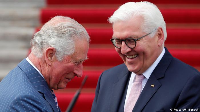 Prince Charles and President Frank-Walter Steinmeier