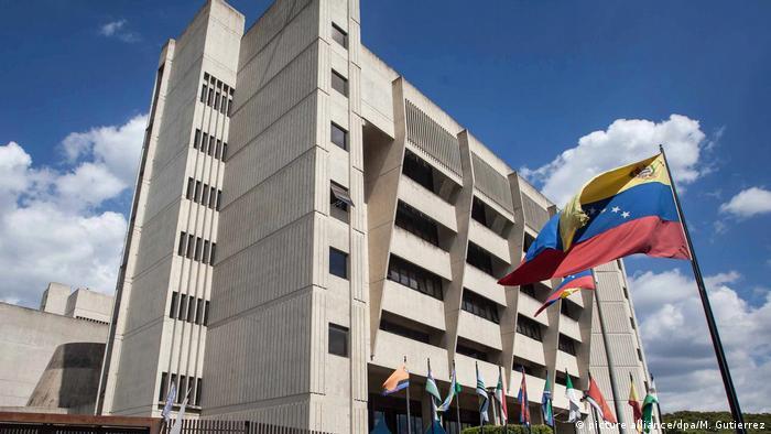Venezuela Justiz l Oberstes Gericht in Caracas (picture alliance/dpa/M. Gutierrez)