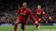 Fussball Champions League Halbfinale l FC Liverpool vs FC Barcelona | 2:0
