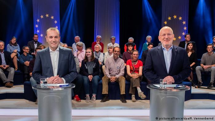 Manfred Weber versus Frans Timmermans