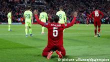 Fussball Champions League Halbfinale l FC Liverpool vs FC Barcelona