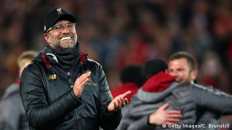 Fussball Champions League Halbfinale l FC Liverpool vs FC Barcelona | Trainer Jürgen Klopp (Getty Images/C. Brunskill)