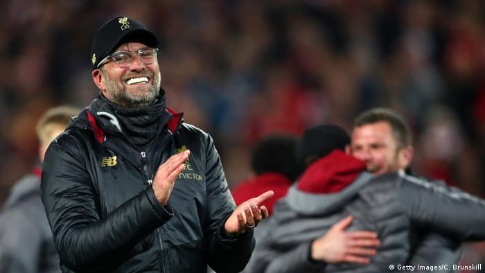 Fussball Champions League Halbfinale l FC Liverpool vs FC Barcelona | Trainer Jürgen Klopp