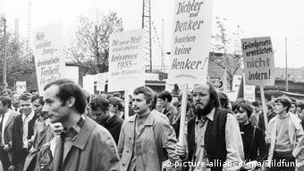 Aπό τις μεγάλες μαθητικές και φοιτητικές διαδηλώσεις στη Γερμανία το 1968