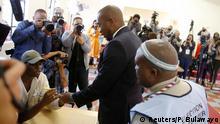 Südafrika Wahlen Mmusi Maimane in Soweto