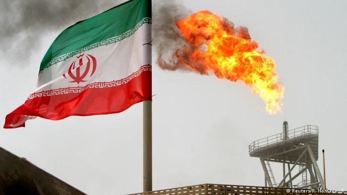 USA Iran Spannungen Symbolbild Sanktionen Ölproduktion in Soroush