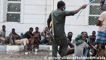 Jemen Aden illegale Migranten aus Afrika