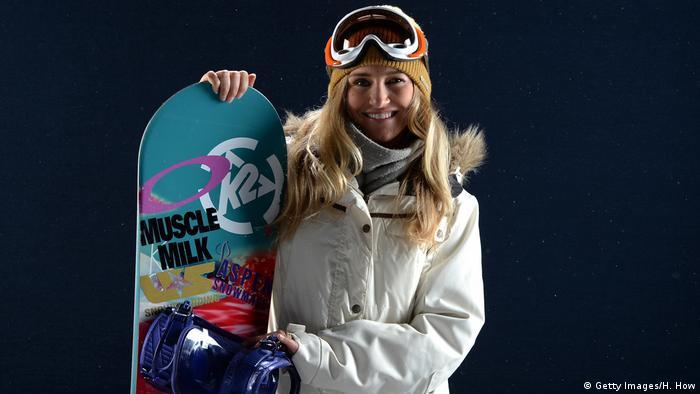 USA Californien - Snowboarderin Gretchen Bleiler