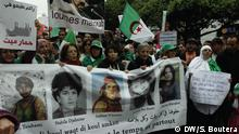 Algerien Algier Feminismus Demonstration