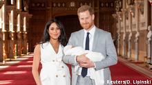 Großbritannien Prinz Harry and Meghan mit Baby