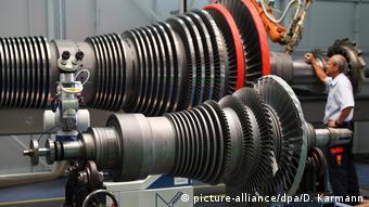 Техобслуживание турбин Siemens