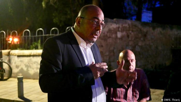 Zypern Europawahl l Niyazi Kızılyürek - Wahlkampf in Famagusta