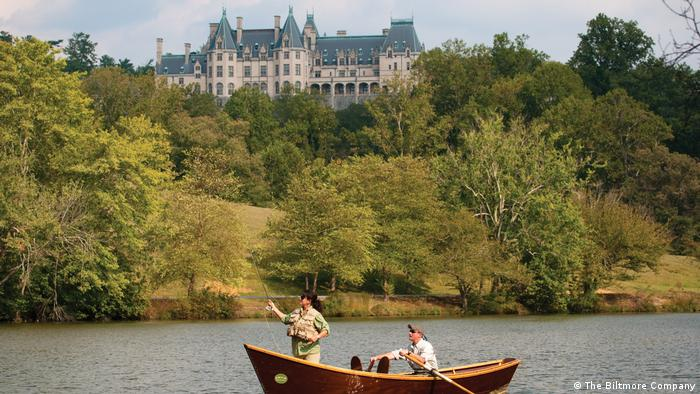 The Biltmore House in Asheville, North Carolina