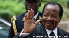 Kamerun Wahl l Präsident Paul Biya