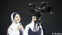 DW Akademie Schülerinnen in Gaza