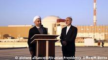 Iran l Teilausstieg aus dem Atomabkommen l Besuch des Kernkraftwerks Buschehr - Rouhani