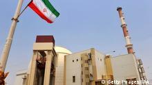 Iran 2010 Bau Atomkraftwerk in Bushehr