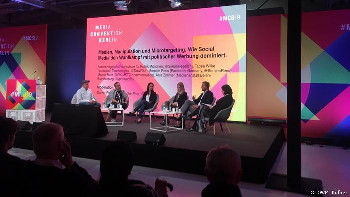 Deutschland re;publica 2019 | Internetkonferenz in Berlin | Debatte mit Facebook