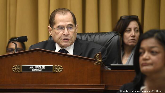 Chairman Jerry Nadler of the House Judiciary Committee (picture alliance/newscom/M. Theiler)
