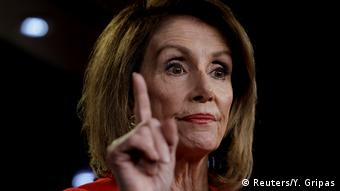 USA Mueller Bericht l Justizausschuss des Senats l Parlamentspräsidentin Nancy Pelosi (Reuters/Y. Gripas)