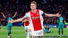UEFA Champions League | Ajax Amsterdam vs. Tottenham Hotspur | 1. TOR Ajax