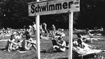 Παραλία γυμνιστών στο Αμβούργο, 1973