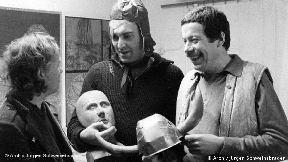 Jürgen Schweinebraden und seine Freunde (Foto: Archiv Jürgen Schweinebraden)