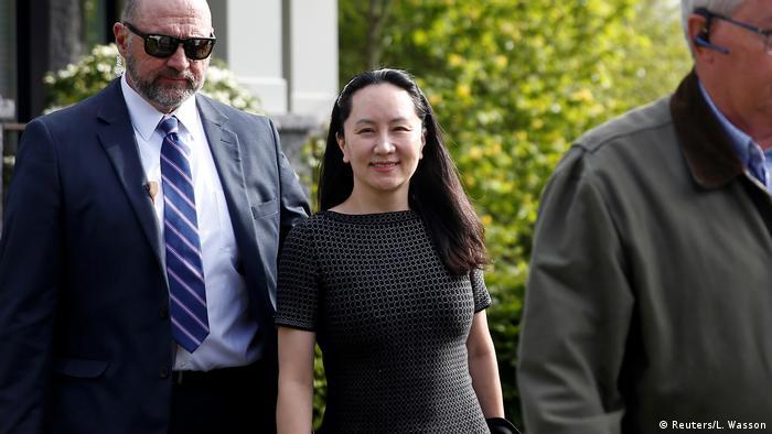 Meng Wanzhou ist inzwischen auf Kaution frei