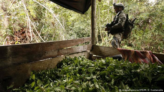 Kolumbien | Operation gegen Drogenhandeln (imago/Agencia EFE/M. D. Castaneda)