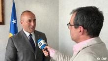 Ramush Haradinaj DW-Interview