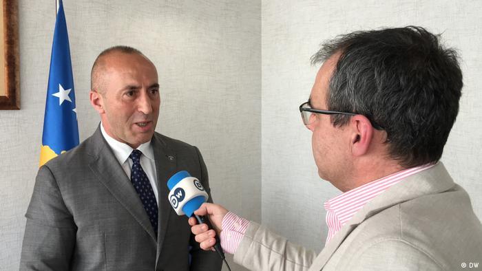 Ramush Haradinaj DW-Interview