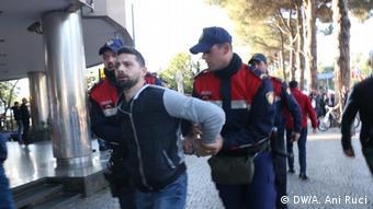 Albanien Protest in Tirana (DW/A. Ani Ruci)