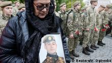 Ukraine Kiew Gedenken der Opfer in Ostukraine
