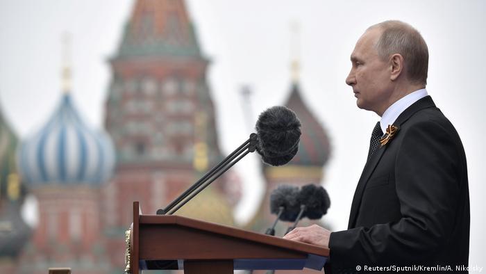 Russland Militärparade Putin Rede