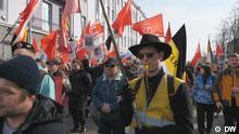 Demonstration in Archangelsk gegen Mülldeponie
