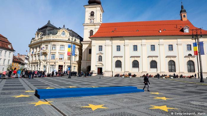 Неформальный саммит ЕС в румынском Сибиу