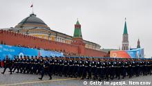 Russland Militärparade