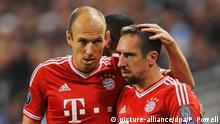 Franck Ribery und Arjen Robben