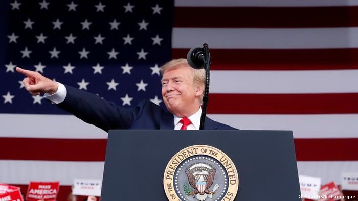 Rais wa Marekani Donald Trump (Reuters/K. Lamarque)