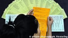 Stimmzettel Wahl Wahlen Europawahl