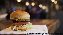 Fleischloser Burger