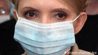 Schweinegrippe Ukraine Timoschenko