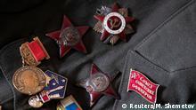 Bildergalerie Russland 100-jähriger Veteran
